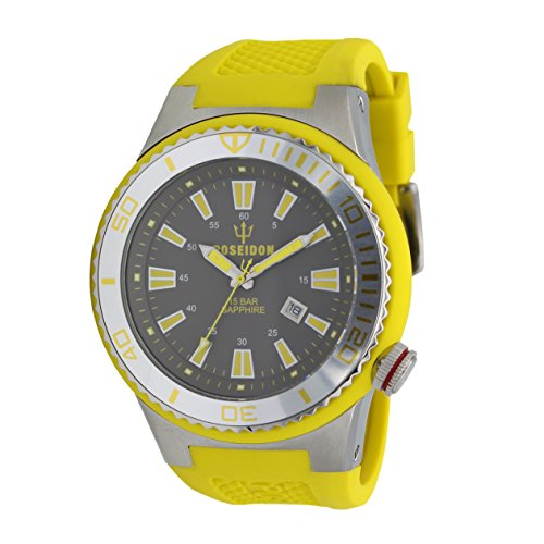 POSEIDON by KIENZLE XL Uhr Analog mit Silikon Armband UP00615