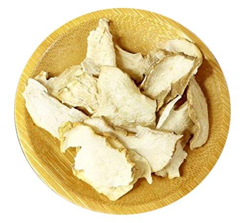 Helen Ou@ Jiuhuashan Natural Huang Jing Wild Rhizoma Polygonati Slice 125g/0.28lb/4.41oz