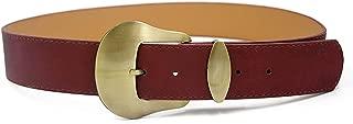 uxcell Women Single Pin Buckle Adjustable PU Waist Belt