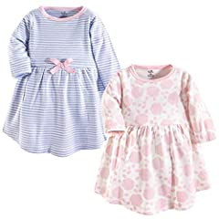 Made with 100% organic cotton (exclusive of decoration) Soft, gentle and comfortable on skin Optimal for everyday use Set includes organic dresses Affordable, high quality value pack