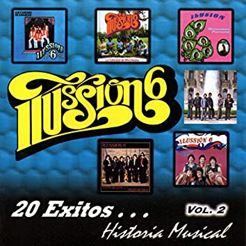 Historia Musical 20 Exitos, Vol. 2