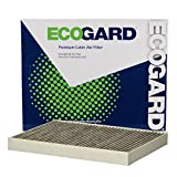 ECOGARD XC10582C Premium Cabin Air Filter with Activated Carbon Odor Eliminator Fits Audi Q7 2017-2019, Q5 2018-2019, A4 Quattro 2017-2019, A4 2017-2019, A4 allroad 2017-2019, SQ5 2018-2019, S5 2019