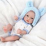 Muñeca de bebé realista con cuerpo de silicona, lavable, realista, recién nacido, realista, bebé recién nacido, de Oshide  4#