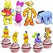 52 pcs Winnie the Pooh Birthday Cake Topper wopin-