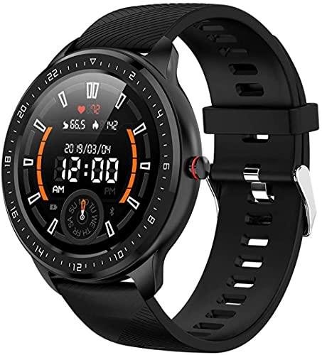 JSL Smart Watch Fitness Tracker IP67 impermeable pantalla táctil completa deportes reloj de pulsera calorías contador cronómetro