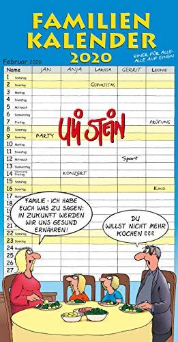 Uli Stein Familienkalender 2020