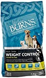 Burns Pet Weight Control Complete Dry Adult and Senior Dog Food Chicken, 7.5 kg