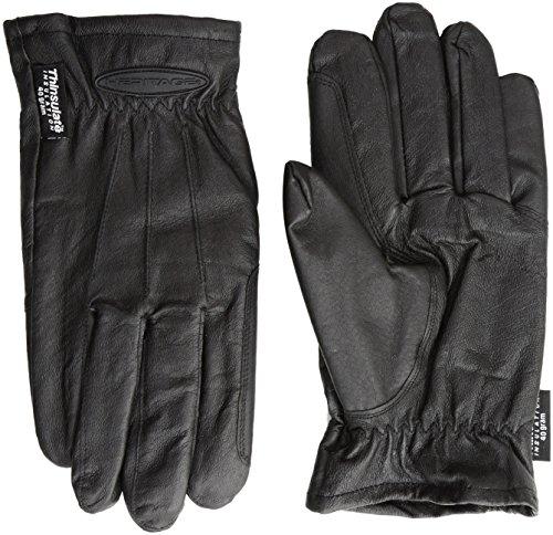 Heritage Cold Weather Gloves, Size 10, Black