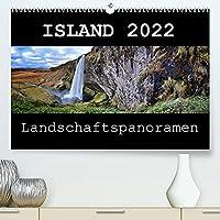 Island 2022 Landschaftspanoramen (Premium, hochwertiger DIN A2 Wandkalender 2022, Kunstdruck in Hochglanz): Die grossartige Landschaft Islands festgehalten im Panoramaformat (Monatskalender, 14 Seiten )