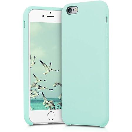 kwmobile Cover per Apple iPhone 6 / 6S - Cover Custodia in Silicone TPU - Back Case Protezione Cellulare Menta Matt