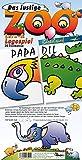 Das lustige Zoo Lern- und Legespiel: Zootiere zum Ausschneiden und Spielen