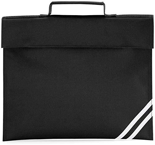 Preisvergleich Produktbild Quadra Klassische Büchertasche,  Schwarz - schwarz - Größe: Einheitsgröße