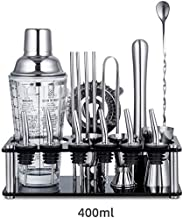 Bartender Kit 19 -Piece Bar Tool Set with Rustic Perfect Home Bartending Kit and Cocktail Shaker Set for an Awesome Drink ...