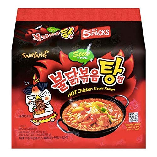 Samyang Stew Type Hot Chicken Flavor Ramen Nudeln 725g