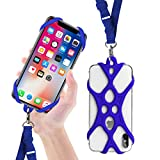 ROCONTRIP 2 in 1 Cell Phone Lanyard Strap Case Holder with