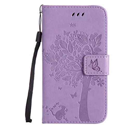 HUANGTAOLI Custodia in Pelle Portafoglio Flip Case Cover per Motorola Moto G2 (2 Generazione XT1063 XT1068 XT1069) 2014