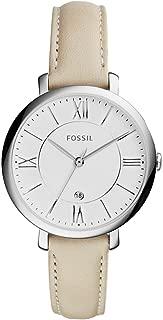 Fossil Women's ES3793 Jacqueline Analog Quartz White Watch