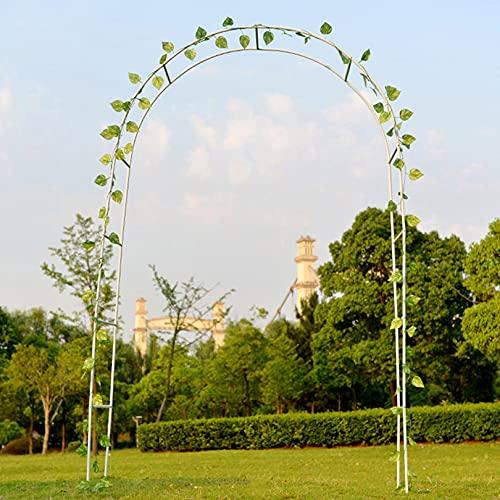 Lidengdeng Speed Arco de Rosas Trepadoras, Arco de Jardín, Decoracion Jardin Arco, Puerta Enrejado de Metal, Metal para Plantas Trepadoras, Cerradura para Plantas Trepaderas Enredaderas