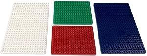 Velleman VTBB7 Plates for Mini Breadboard Set  Multi-Colour