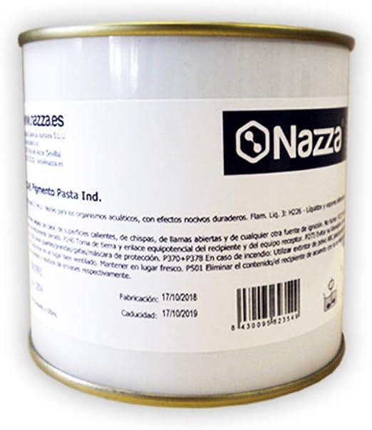 Pigmentos Industriales para Teñir Resinas y Productos al Disolvente, Color Gris R-7011, 500 ml