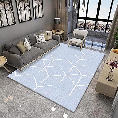 alfombras a Medida,Alfombra Azul Claro, Silla de la Oficina de rastreo Amy Alfombra, alfombras Grandes -Azul Claro_200x280cm