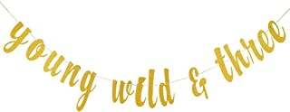 young wild and three banner