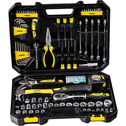 WMC Tools Werkzeugkoffer 128-teilig 1/4