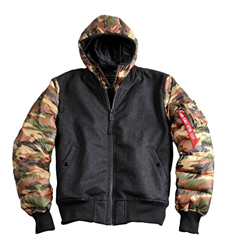 Alpha Industries Jacke Expedition, Color:wood camo;Größe:L