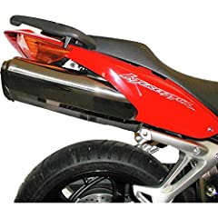 The Competition Werkes Fender Eliminator Kit eradicates the rear fender and relocates your license plate up under the rear of your bike, below the tail light, to give your bike a cleaner race-style look. Quality, CNC-machined, all-stainless-steel kit...