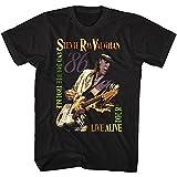 American Classics Stevie Ray Vaughn Live Alive Tour Black Adult T-Shirt Tee