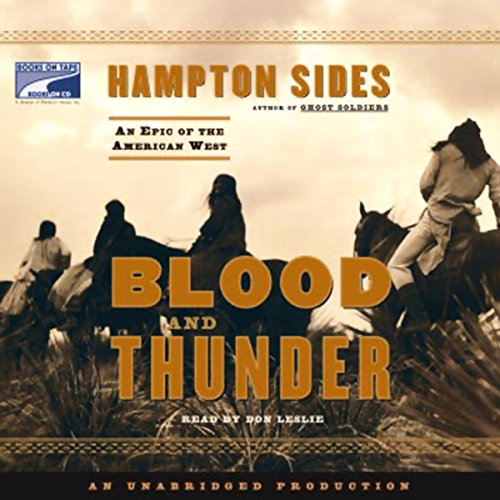 Blood and Thunder  By  cover art