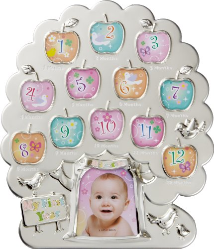 First Year Baby Picture Frame, 12-Month Timeline Picture Frame
