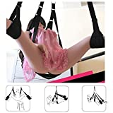 DDCHY premium sex swing for the ceiling loadable to 150 kg - love swing sex toys (without bracket), couples