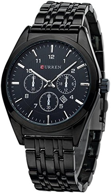 Watch Men's Business Casual Sports Ultra-Thin Men's Watch Fashion Genuine Watch (color   2)