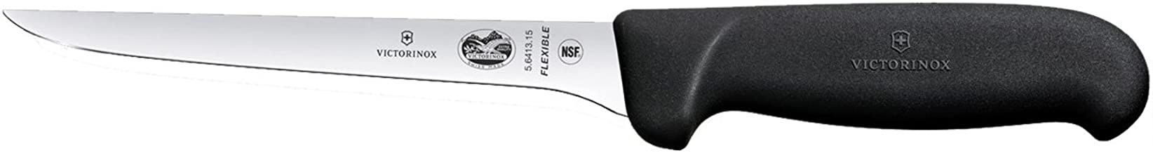 Victorinox Swiss Army 6 Inch Swiss Classic Boning Knife with Flexible Blade