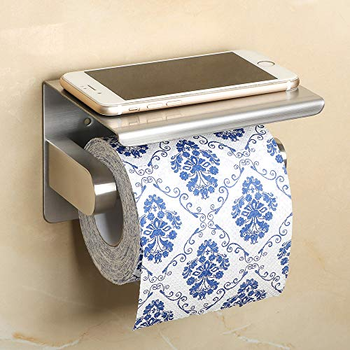 Top 10 best selling list for alise toilet paper holder with mobile phone shelf