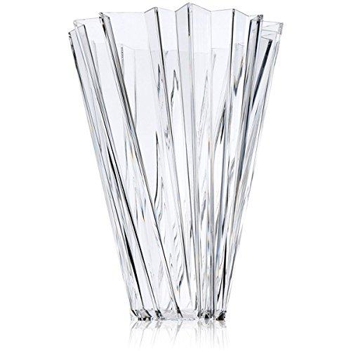 Kartell 1229B4 Vase Shanghai, glasklar