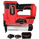 Excel EXL592B 18V 2nd Fix Brad Nailer Stapler Nail Gun with 1 x 2.0Ah...