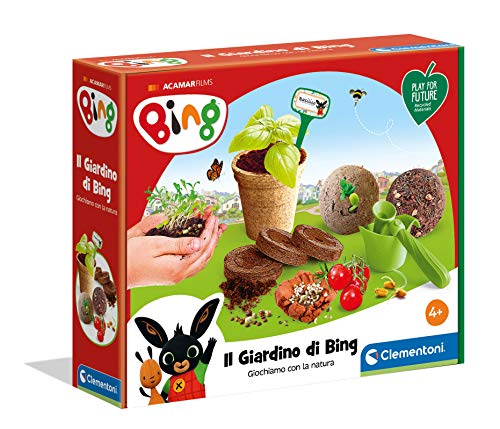 Clementoni Giardino di Bing-Play for Future-Made in Italy-orto botanico-Gioco educativo (Versione in Italiano), 6 Anni+, 19202