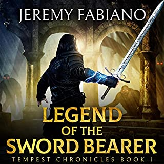Legend of the Sword Bearer audiobook cover art