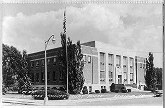 HistoricalFindings Photo: Court House,Courthouse,Audubon,Audubon County,Iowa,IA