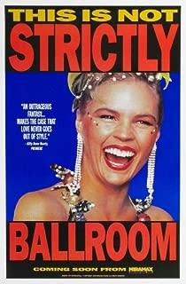 Strictly Ballroom Movie Poster (27 x 40 Inches - 69cm x 102cm) (1992) Style E -(Paul Mercurio)(Tara Morice)(Bill Hunter)(Pat Thomsen)(Barry Otto)(Gia Carides)