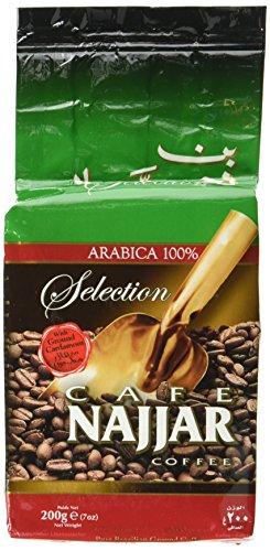 Najjar Selection Arabica Kaffee mit Kardamom (1 x 200 g)