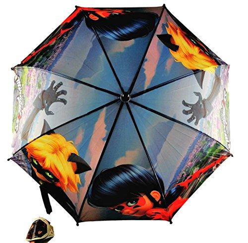 Cerdá paraplu Ladybug New Ass.1 blauw 2400000364