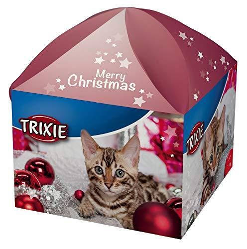 Trixie 9266 Xmas Geschenkbox, für Katzen