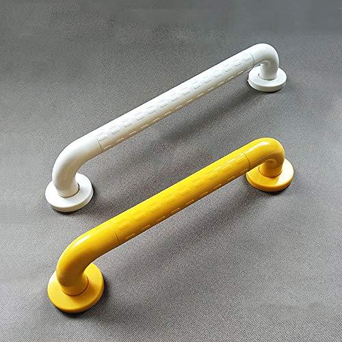 WC Sicherheitsrahmen Schnappen Sie den Hebel Dusche Griff Badezimmer Balance Bar Sicherheits-Licht Ring Anti-Rutsch für Stabilität und Kontrolle (Farbe : White, Size : 40cm)