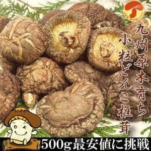 九州産原木小粒干しどんこしいたけ500g 国産 無農薬原木栽培 小粒 どんこ 椎茸