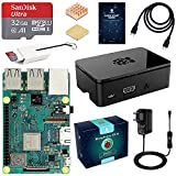 LABISTS Raspberry Pi 3 Modell B Plus (B +) Ultimatives Starterkit mit 32GB Class 10 SanDisk Micro SD...