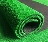 WYJW Kunstrasen Simulation Rasen Kunststoff gefälschten Rasen Kunstrasen Dachterrasse grünen Teppich, Größe: Länge 100 cm, Breite 200 cm, Dicke 1 cm