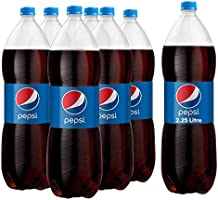 Pepsi, Carbonated Soft Drink, Plastic Bottle, 2.25 Litre x 6